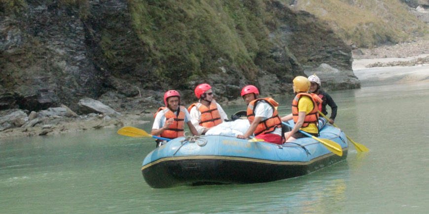 Seti white river rafting